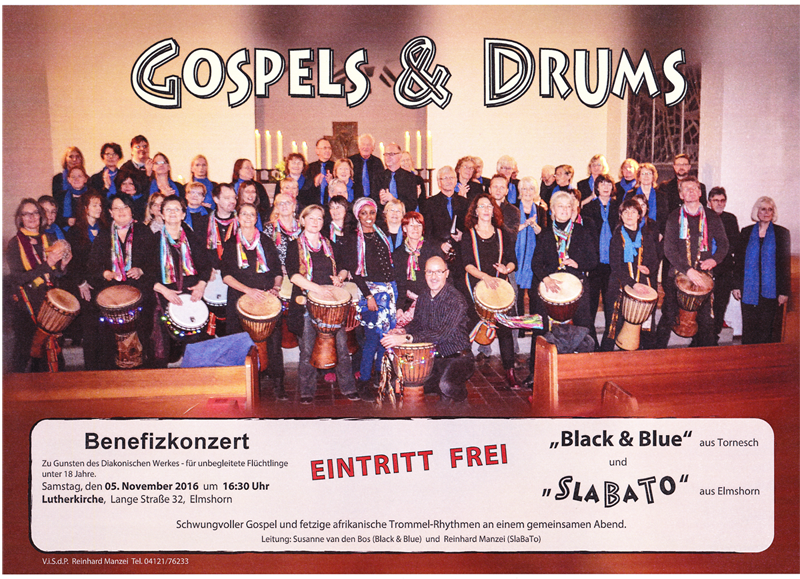 Gospel and Drums